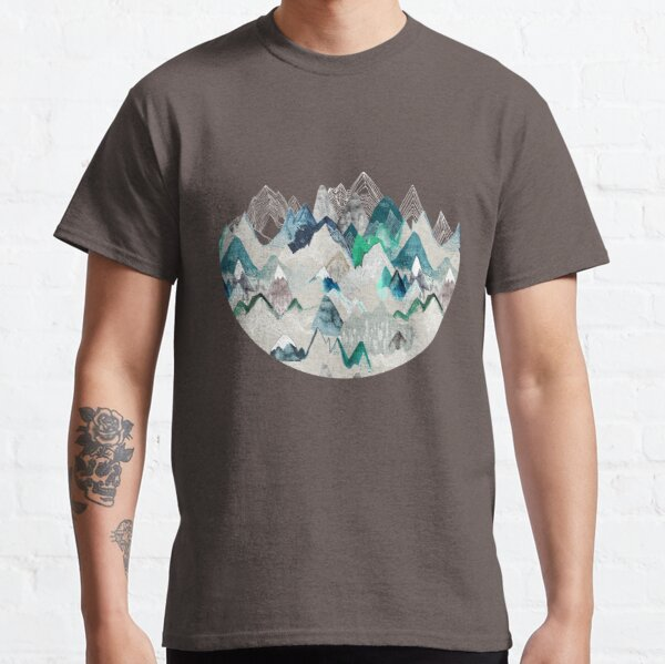 Call of the Mountains (in evergreen)  Classic T-Shirt