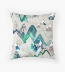 Call of the Mountains Throw Pillow