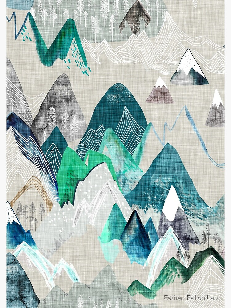 Call of the Mountains (in evergreen)  by nouveaubohemian