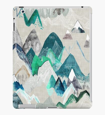 Call of the Mountains iPad Case/Skin