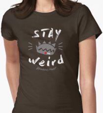 JUGHEAD STAY WEiRD Women's Fitted T-Shirt
