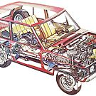 Range Rover Classic Cutaway by JustBritish