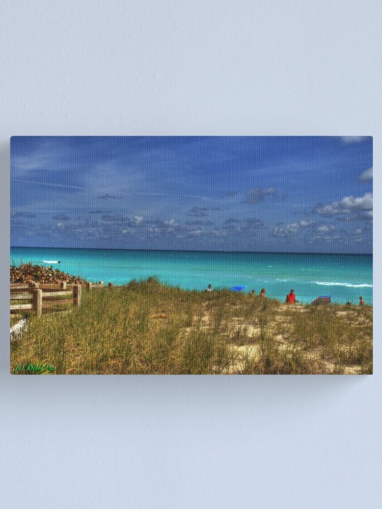 Alternate view of Beach Hike Canvas Print