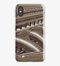 Auburn Speedster Detail - Sepia iPhone Case/Skin