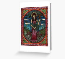 Hera or Juno (the Queen of the gods)  Greeting Card