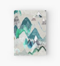 Call of the Mountains (in evergreen)  Hardcover Journal