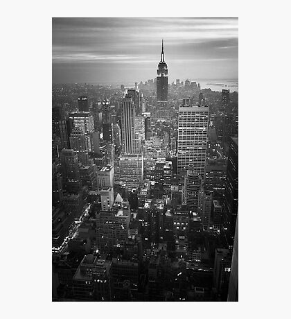 New York (v) Photographic Print
