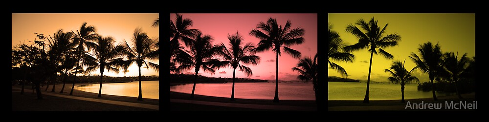 Airlie Beach Sunset by Andrew McNeil