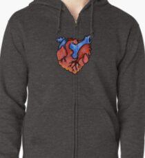 Ohio Heart Zipped Hoodie