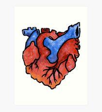 Ohio Heart Art Print