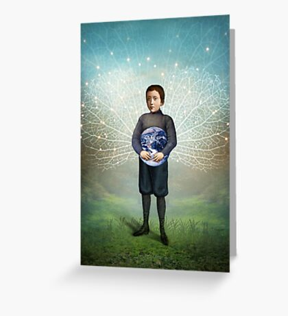 Small Hero Greeting Card