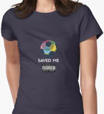 Soccer Saved Me Womens Fitted T-Shirt