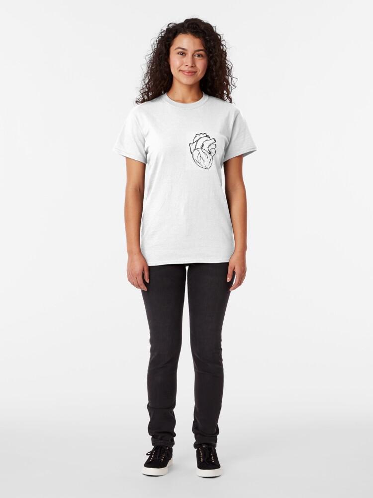 Alternate view of Heart Classic T-Shirt