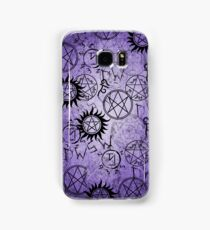 Supernatural Purple Samsung Galaxy Case/Skin