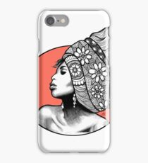Tribal Head Piece iPhone Case/Skin