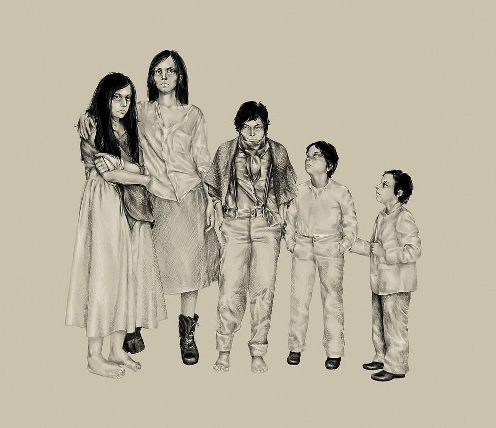 Les MIserables Thenardier Siblings by araslanova