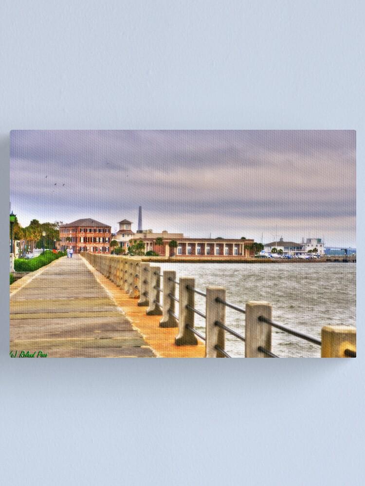 Alternate view of Charleston Harbour Canvas Print