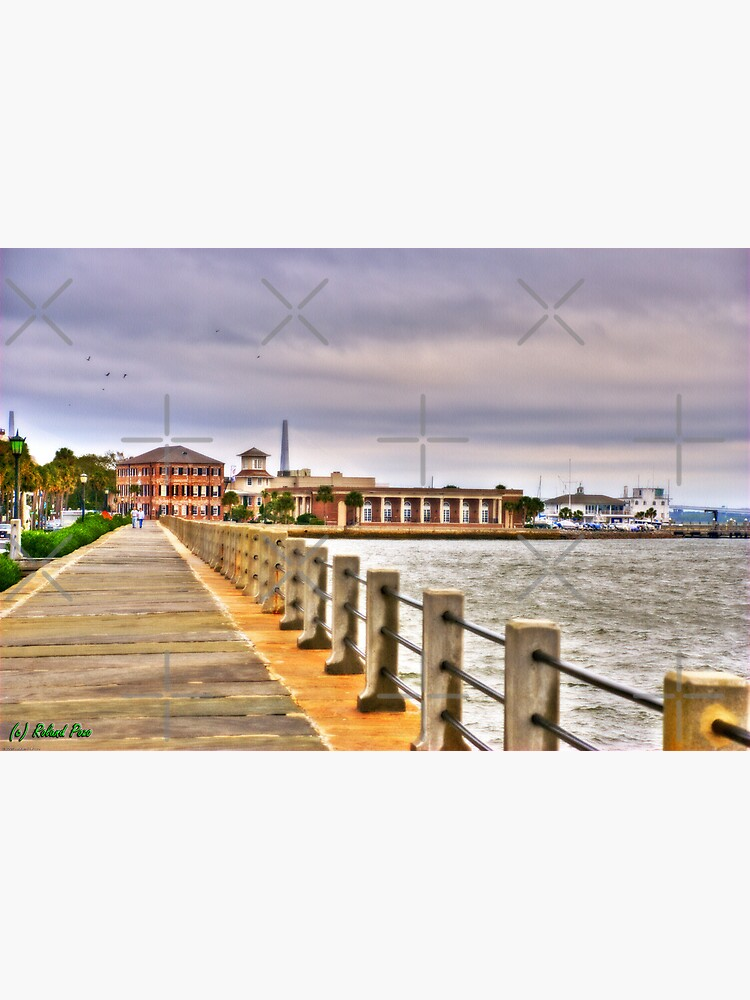 Charleston Harbour by photorolandi