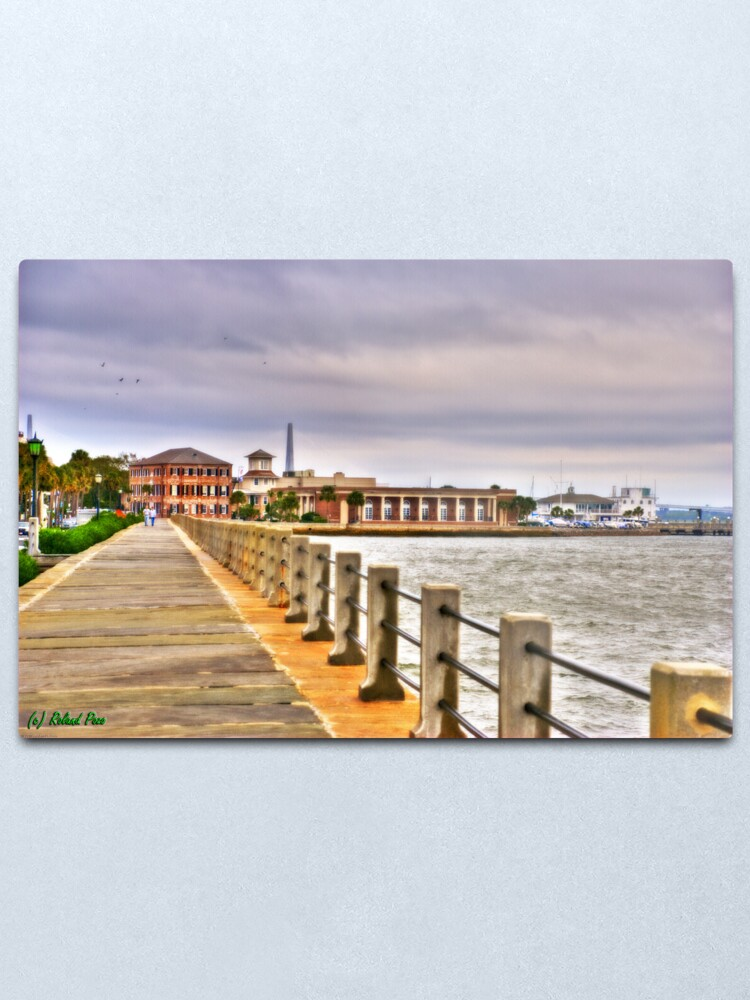 Alternate view of Charleston Harbour Metal Print