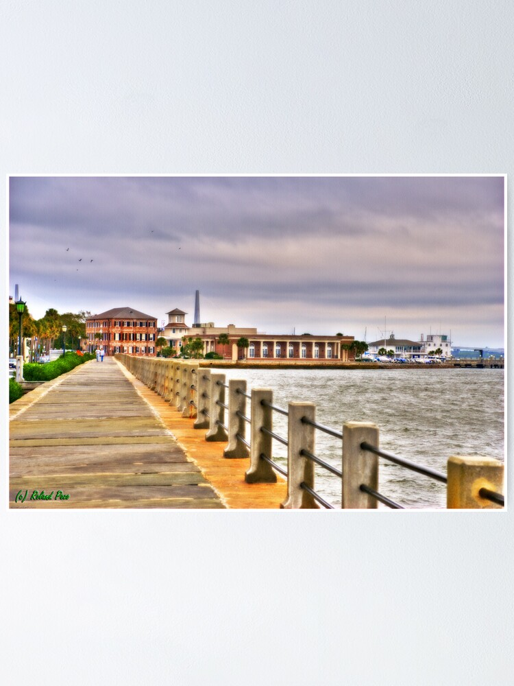 Alternate view of Charleston Harbour Poster