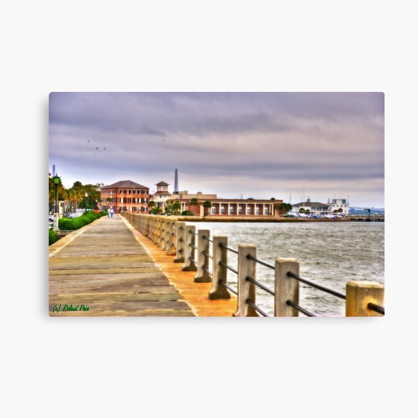 Charleston Harbour Canvas Print