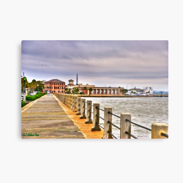 Charleston Harbour Metal Print