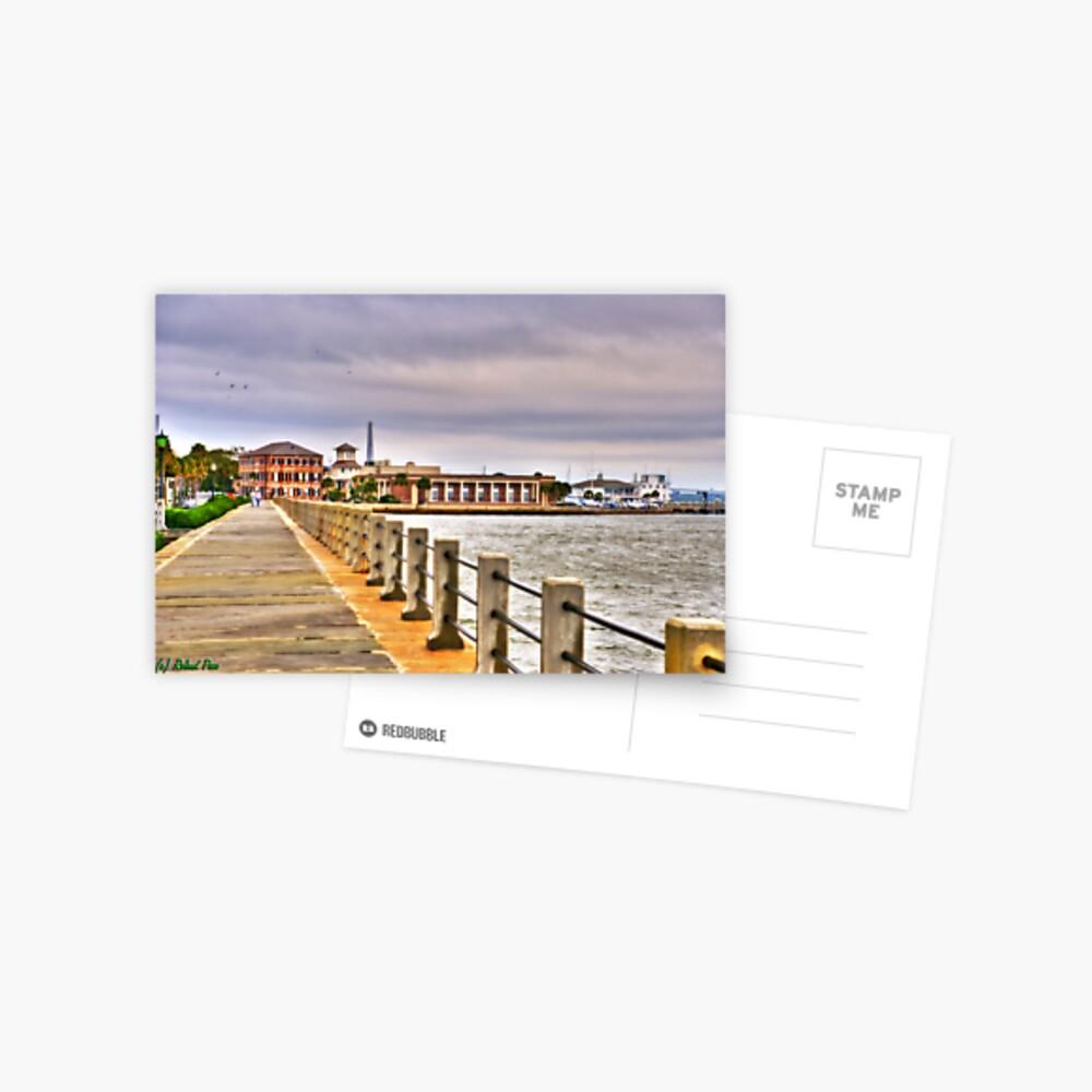 Charleston Harbour Postcard