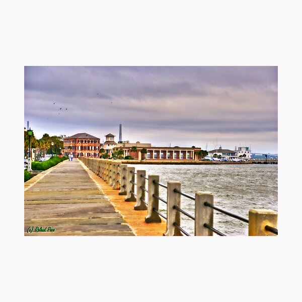 Charleston Harbour Photographic Print