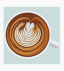 Cup-a-Cappuccino Photographic Print