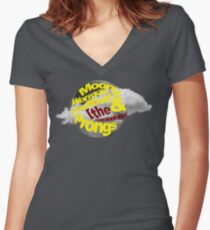 The Marauders Women's Fitted V-Neck T-Shirt