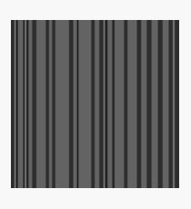 Simplistic Stripes Photographic Print