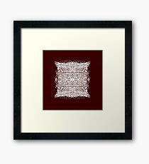 Souffle Framed Print