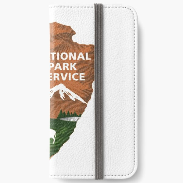 National Park Service Logo iPhone Wallet