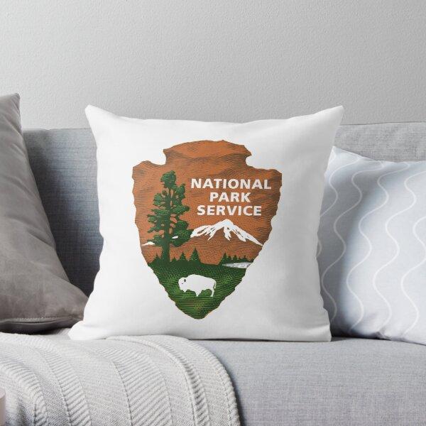 National Park Service Logo Throw Pillow