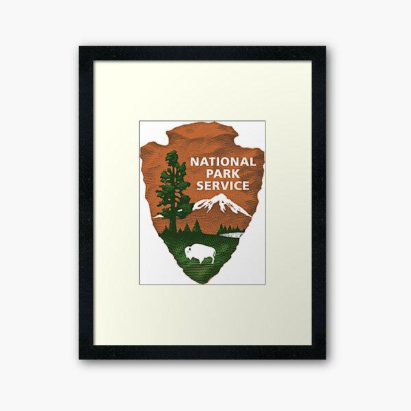 National Park Service Logo Framed Art Print