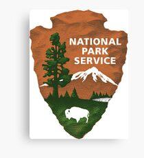 National Park Service Logo Canvas Print