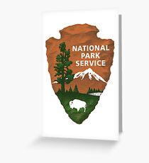 National Park Service Logo Greeting Card