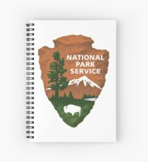 National Park Service Logo Spiral Notebook