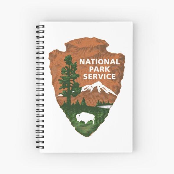 National Park Service Logo Spiral Notebook