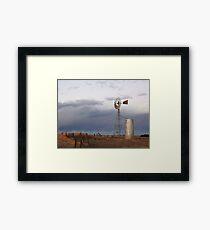 Lem Greene's Windmill Framed Print