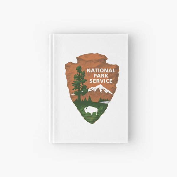 National Park Service Logo Hardcover Journal