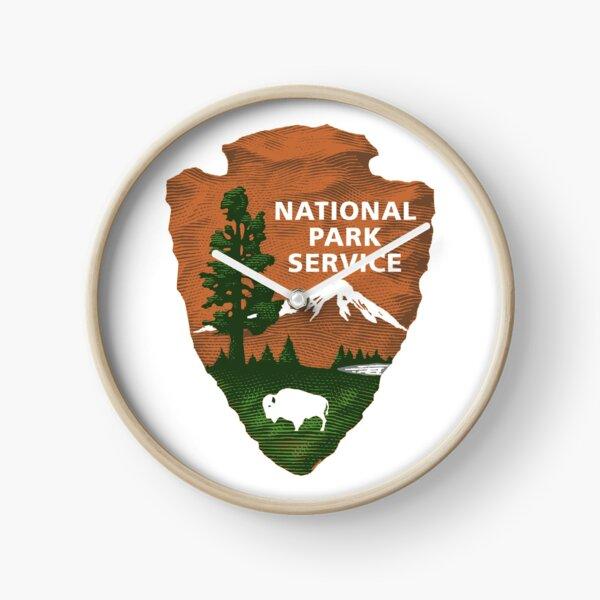 National Park Service Logo Clock