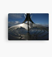 Icelandic Architecture Canvas Print