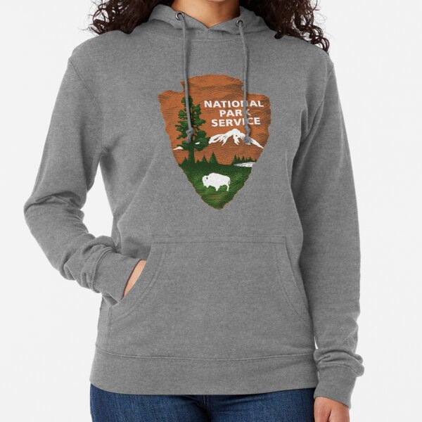 National Park Service Logo Lightweight Hoodie