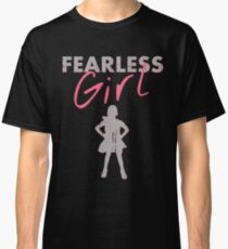 FEARLESS GIRL - Original Grey/Pink Classic T-Shirt
