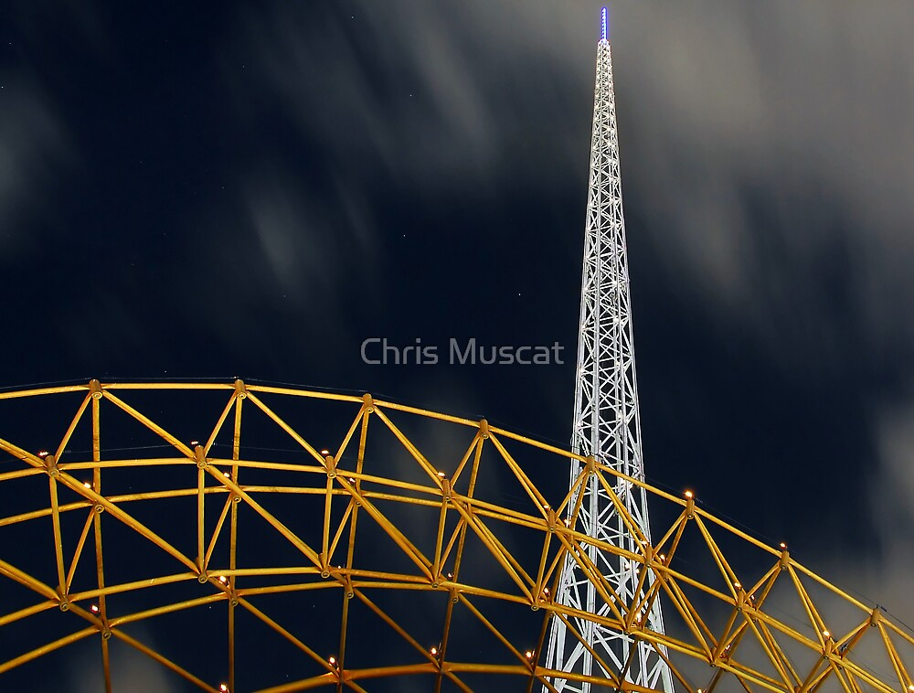 Arts Centre Spire Melbourne by Chris Muscat