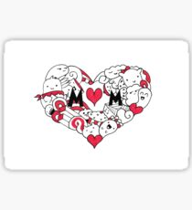 Mom Heart Sticker
