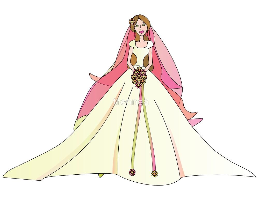 Spring Bride by trennea