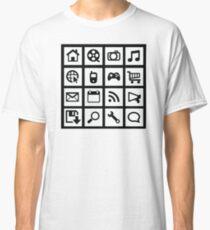 Web icon graphics Classic T-Shirt