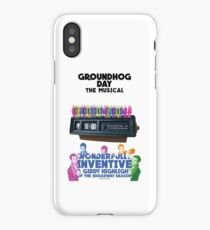 Groundhog Day Poster Edit iPhone Case